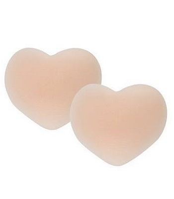 Valentine's Day Gifts Komene Pasties - Reusable Adhesive Silicone Nipple Covers Heart