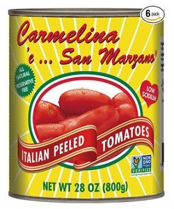 Carmelina Brands Italian Whole Peeled Tomatoes In Puree