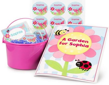 Girls Easter Personalized Kit