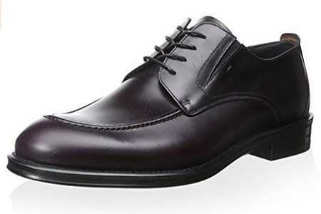 Dino Bigioni Men's Moc-Toe Oxford Shoe