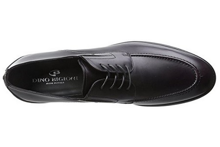 Dino Bigioni Men's Moc-Toe Oxford Shoe