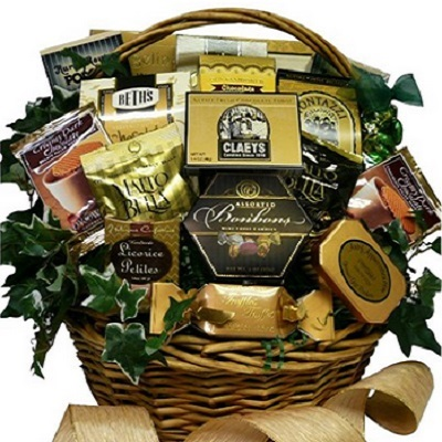 Art of Appreciation Gift Baskets Sweet Sensations Cookie, Candy And Treats Gift Basket