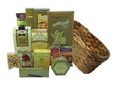 Art Of Appreciation Gift Baskets Golden Splendor Gourmet Food Gift Basket