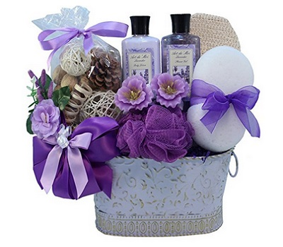 Art Of Appreciation Gift Baskets Lavender Renewal Spa Bath And Body Gift
