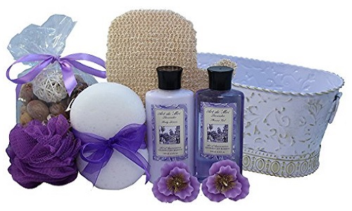 Art Of Appreciation Gift Baskets Lavender Renewal Spa Bath And Body Gift