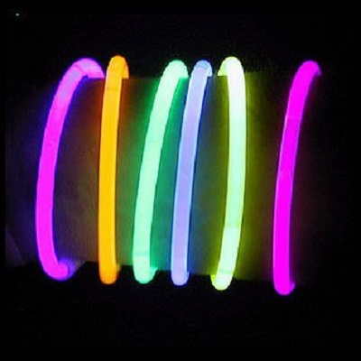 8 LumiStick Brand Glowsticks Bracelets Mixed Colors