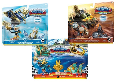 Skylanders Superchargers - Fly, Dive, Drive Toy Bundle