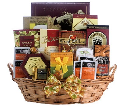 Plentiful Gourmet Wishes - Gourmet Thanksgiving Gift Basket
