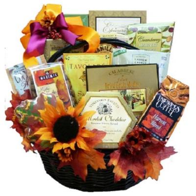 Art of Appreciation Gift Baskets Fall Fantasy Thanksgiving Gourmet Food Basket