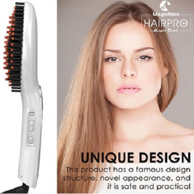 Professional Hair Straightener Brush