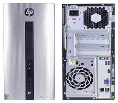 HP Pavilion Desktop PC With Intel Core Dual-Core Processor
