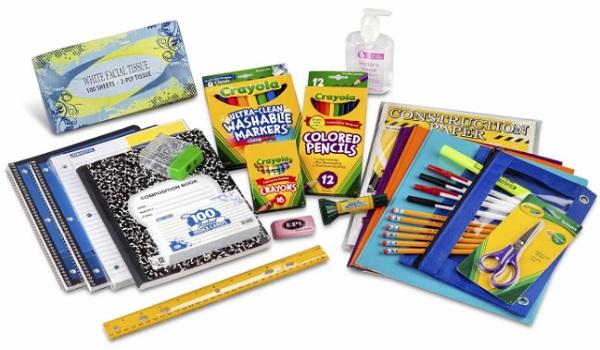 Third Through Fifth Grade Classroom Supply Pack