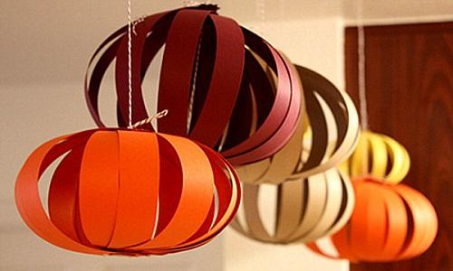Homemade Thanksgiving Decoration Ideas