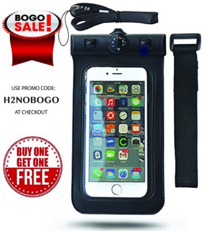 Universal Waterproof Cell Phone Carrying Case For All Apple iPhones