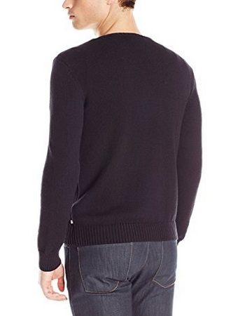Calvin Klein Men's Cotton Reflective Pullover Sweater