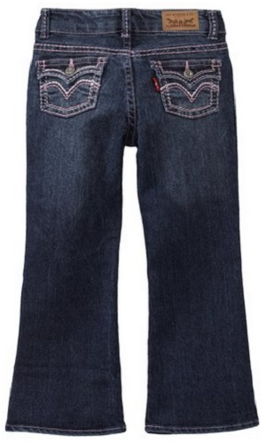 Levi's Girls 715 Thick Stitch Bootcut Jean
