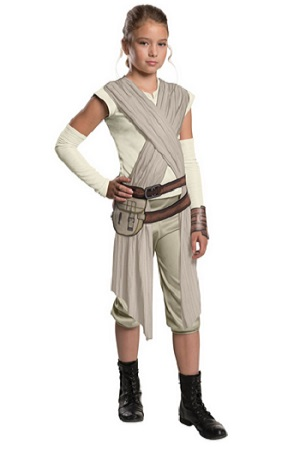Star Wars - The Force Awakens Child's Deluxe Rey Costume