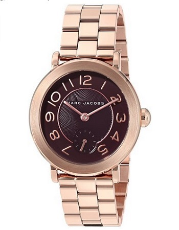 Marc Jacobs Women's Riley Quartz Stainless Steel Automatic Watch