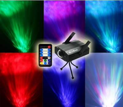 Glow Geek Led Party 7 Colors Lights Projector