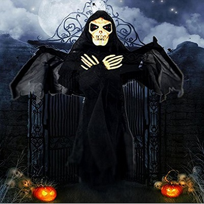 Joyin Skeleton Ghost Halloween Decoration With Blowing Wings