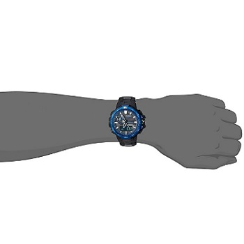 Casio Men's Quartz Stainless Steel And Titanium Sport Watch
