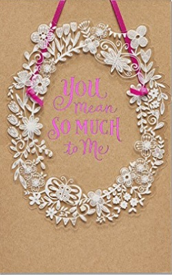 American Greetings Mean So Much Mother's Day Card With Glitter