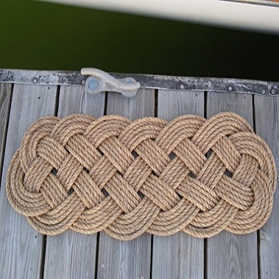 Manila Door Mat Rug Prolong Knot 5 Pass
