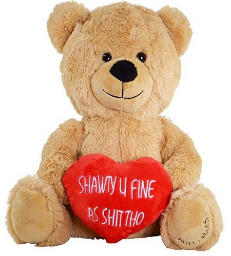 Hollabears Shawty U Fine Teddy Bear - Funny Plush